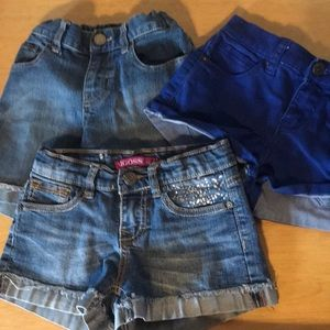 Other - 3 pairs girls shorts